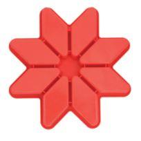 Pavoni - Moule silicone étoile 8 portions