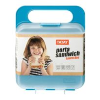 Tatay - Lunch box carré - Turquoise