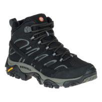 Merrell - Chaussures de marche Moab 2 Mid Gtx noir femme