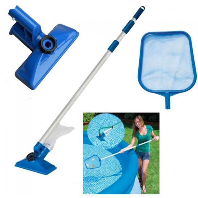 Touslescadeaux kit entretien nettoyage piscine avec for Perche nettoyage piscine