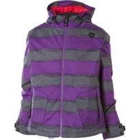 Sessions - Veste Ski Snow jacket Munchie Heather Stripe Jacket