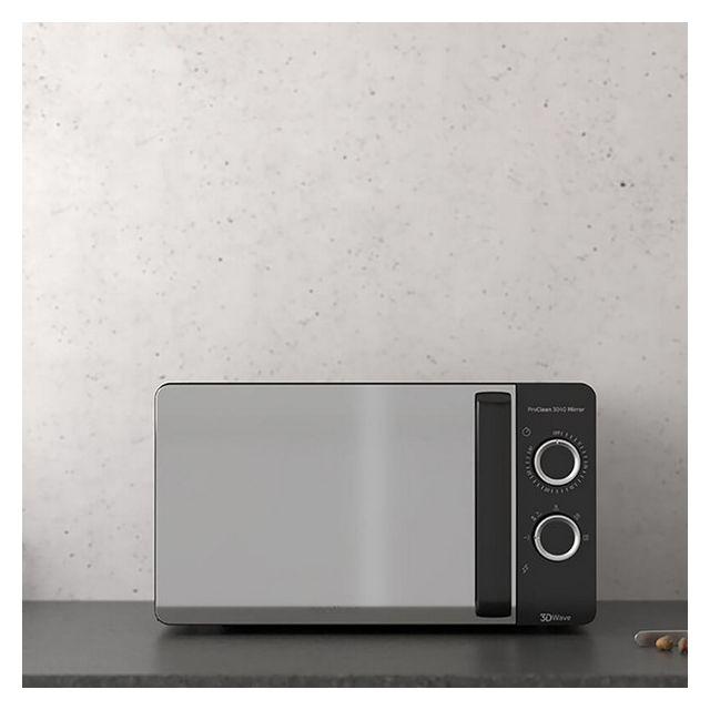 Cecotec Micro-ondes ProClean 3040 Mirror 20 L 700W Noir