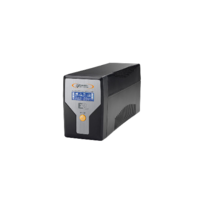 Infosec - E2 Lcd-1000 - Onduleur 4 prises Iec secourues Rj11/45 In/Out, Ecran Lcd - 1000 Va