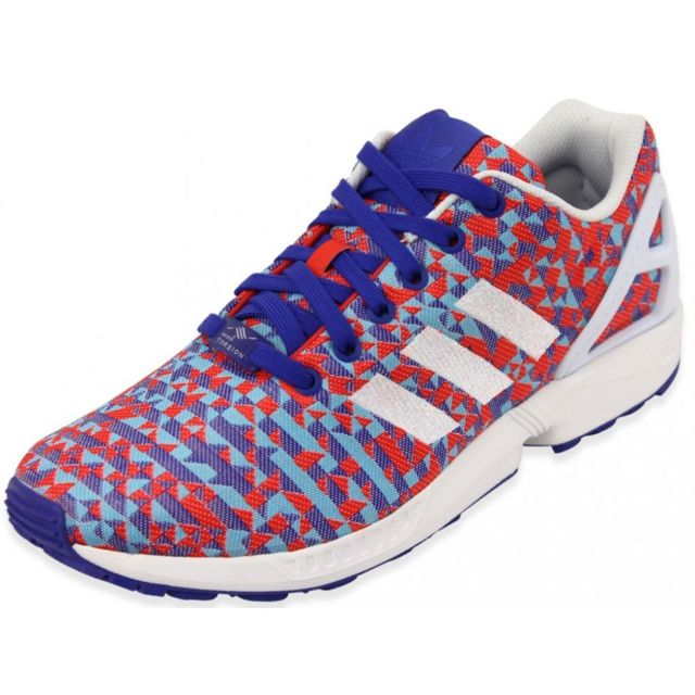 official photos a7b46 2ab86 Adidas - ZX FLUX WEAVE NGT - Chaussures Homme Adidas Multicouleur 44 2 3