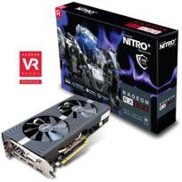 SAPPHIRE TECHNOLOGY - SAPPHIRE NITRO+ RADEON RX 580 4G GDDR5 DUAL HDMI / DVI-D / DUAL DP W/BP UEFI