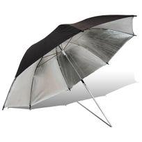 Oting - Parapluie de Studio Argenté 90cm