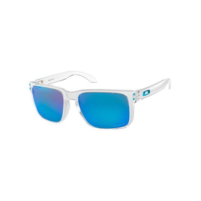 a8a45d61f3e440 Oakley - Lunettes Oakley Holbrook Xl Polished Clear avec verres Prizm  Sapphire Polarized