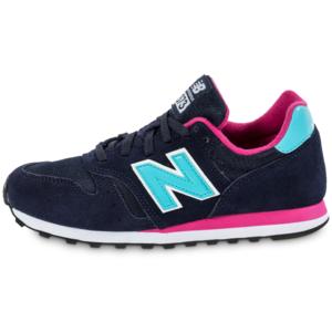 new balance w373 w chaussures bleu rose