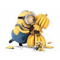 Bebegavroche - Figurine en carton Minion Bananas H 100 cm