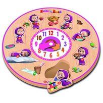 Eichhorn - 109304084 - Masha Puzzle - Horloge En Bois - 7 PiÈCES