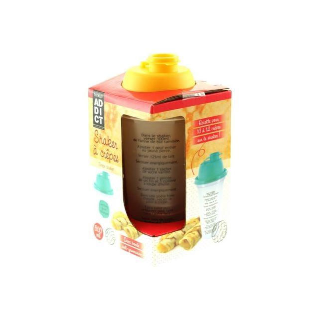 Shaker pâte à crêpes anti grumeaux