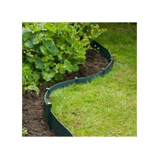 Ancres pour bordure pour jardin, Couleur Gris - longueur : 0