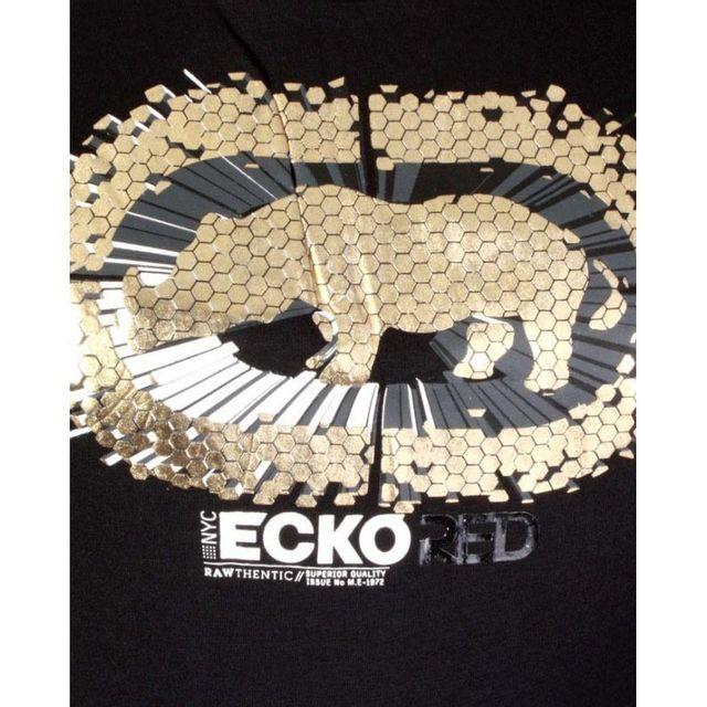 Ecko - Top Red Rhino Burst noir