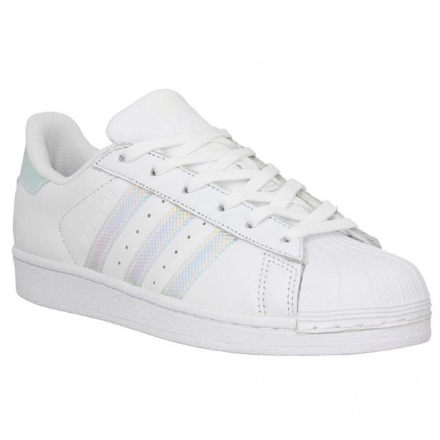 Adidas - Superstar cuir Femme-40-Opal - pas cher Achat ...