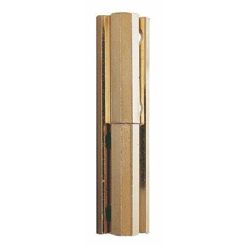 Charni/ère simple Largeur ouverte : 22 mm D/écor : Laiton poli : ITAR Hauteur : 35 mm