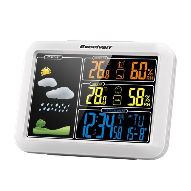 Excelvan Station météo Pt7002W Radio avec prévision