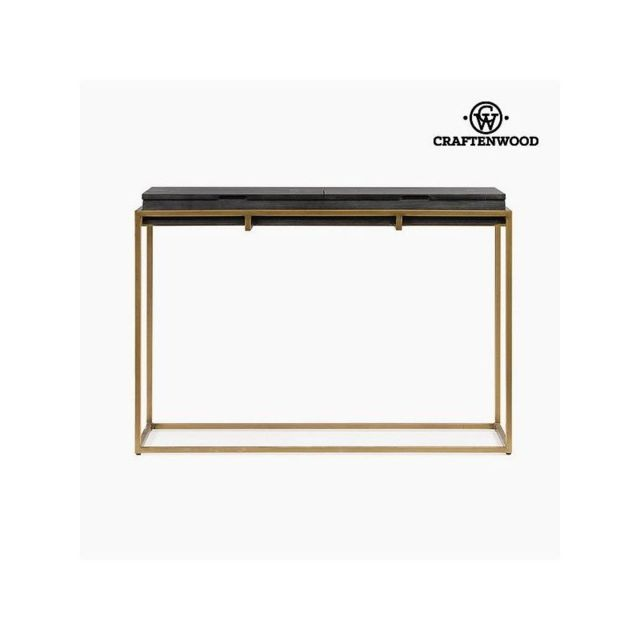 Craften Wood Console Mdf Bois de chêne 125 x 49 x 87 cm Collection Perfect by Craftenwood