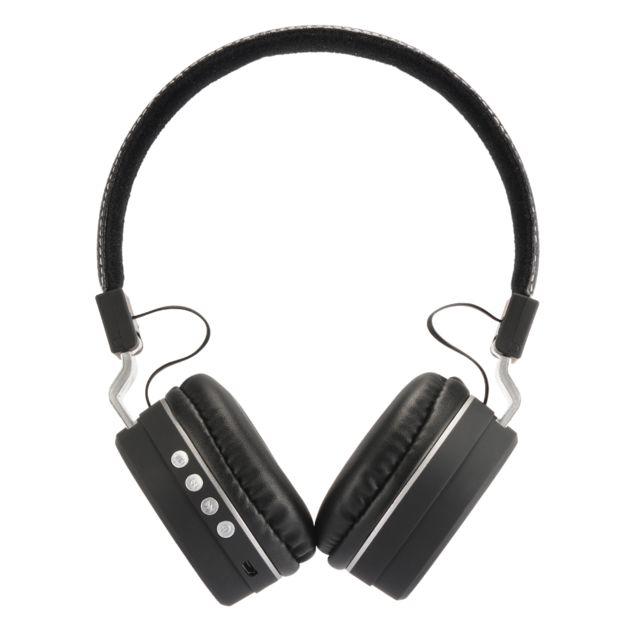 XCSOURCE Casque sans fil Bluetooth pliable sur l'oreille