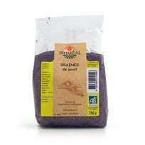 Primeal - Graines De Pavot Sachet De 250 G
