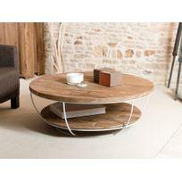 ba40c252547cce table basse double plateau - Achat table basse double plateau pas ...