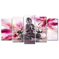 Declina - D?coration murale zen sur toile - Tableau bouddha pas cher