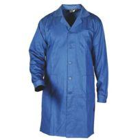 Sacla - Blouse de travail 100% coton bleu bugatti Xxl