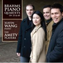 Marquis - Brahms : Quatuors pour piano n 1 & 3. Wang, Amity Players