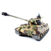Heng-Long - Char German King Tiger Henschel 1/16 RTR 2.4Ghz Sons/Fumée/billes