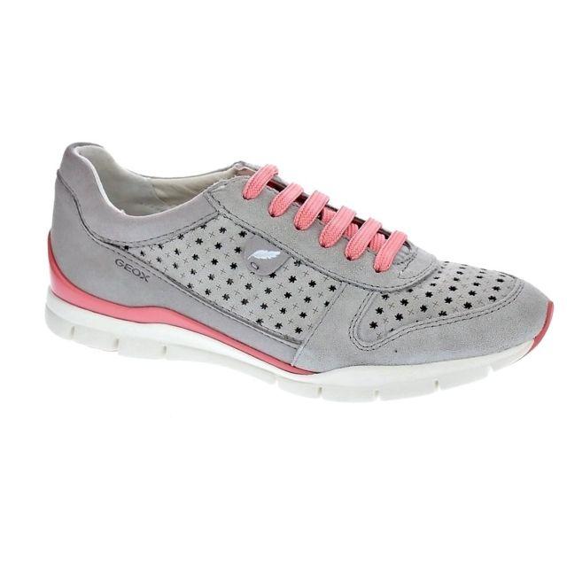 Modele Cher Chaussures Baskets Achat Basses Femme Sukie Geox Pas c3j5L4AqRS