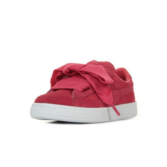 6c4609a61d033 Puma - Suede Heart Valentine Ps - pas cher Achat   Vente Baskets ...