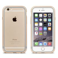 Moshi - Coque Bumper iGlaze Luxe iPhone 6s aluminium gold entourage gel