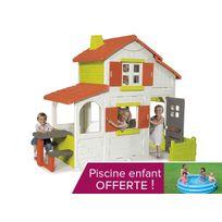 Smoby - Cabane enfant Maison Duplex