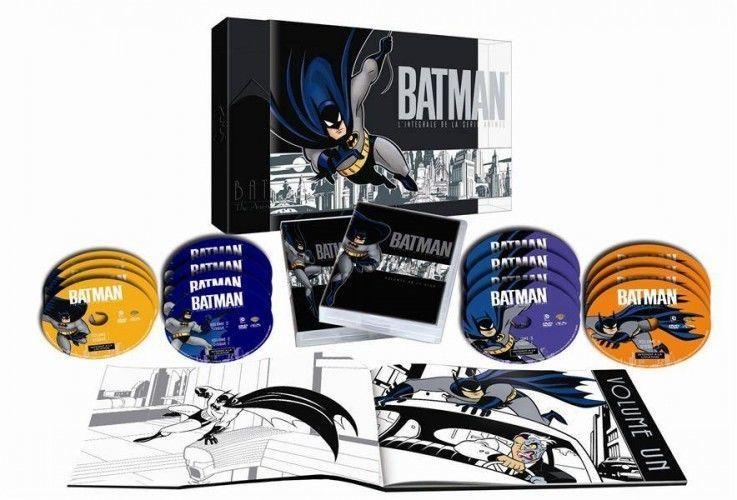 Coffret Batman la série animée