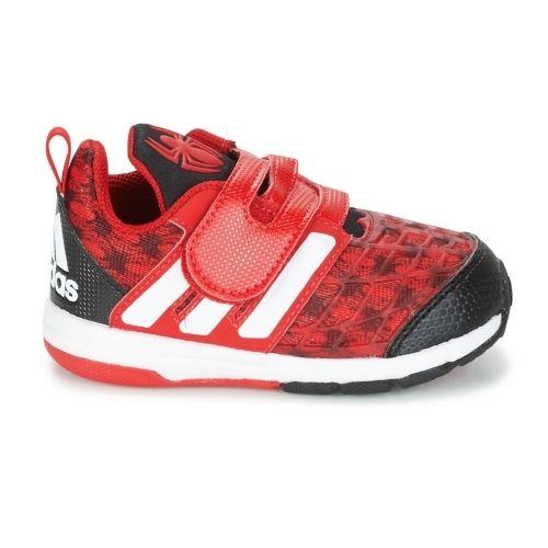 Adidas Marvel Spider man Chaussure Garçon Rouge pas cher