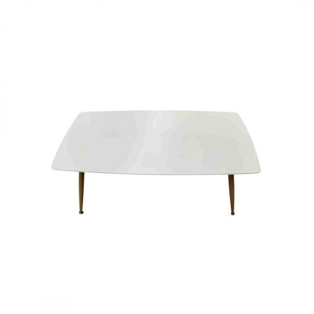 Zoli99 Rosa Table basse en bois Blanc