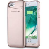 Marque Generique - Coque Chargeur Batterie Externe Housse Support pour iPhone 6/6S Rose