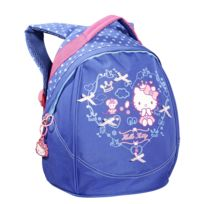 CARREFOUR - Mini sac à dos HELLO KITTY - 33 cm - Bleu - Maternelle