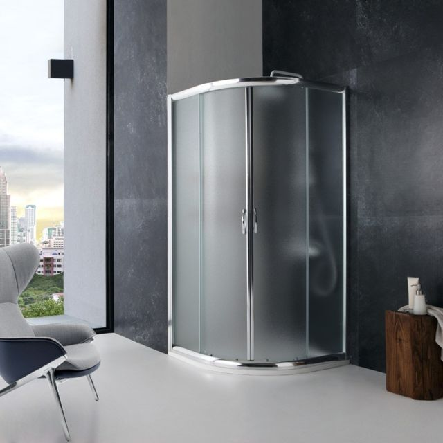 kiamami valentina cabine de douche angulaire giada 80x80 6 mm verre opaque pas cher achat. Black Bedroom Furniture Sets. Home Design Ideas