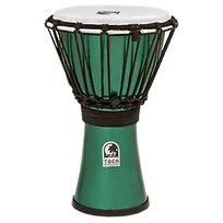 "Toca - Freestyle Colorsound 7"" Metallic Green Tfcdj-7MG"