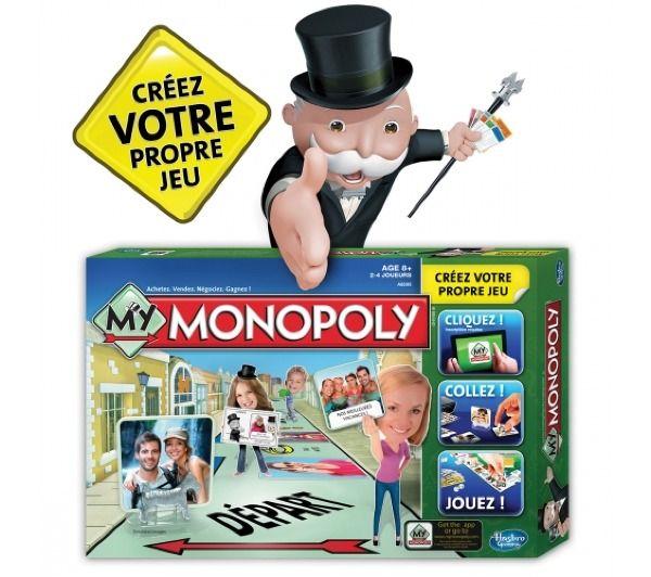 HASBRO GAMING Jeu de Plateau - My Monopoly - A85951010 Jeu de Plateau - My Monopoly - A85951010