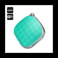 Auto-hightech - Traceur Gps Localisateur Pendentif Gsm WiFi Lbs Sos Audio vert