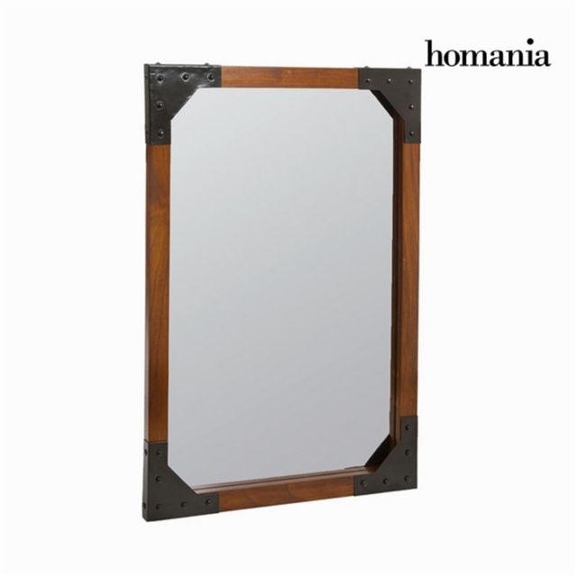 Homania Miroir mural en bois et métal - Collection Franklin by