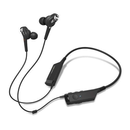 audio technica ecouteurs intra auriculaire bluetooth avec r duction de bruit active ath. Black Bedroom Furniture Sets. Home Design Ideas
