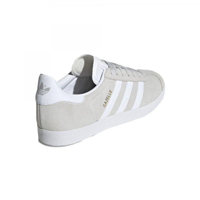 Adidas originals Basket mode Gazelle F34053 Gris pas