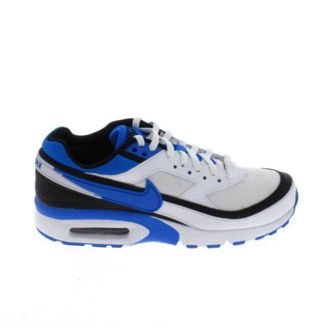 more photos 56e7f c0be2 Nike - Air Max Bw Jr Blanc Bleu
