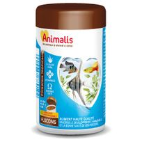 Animalis - Aliments Flocons pour Poissons Tropicaux - 250ml