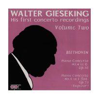 Apr - Walter Gieseking, Early concertos recordings Vol.2