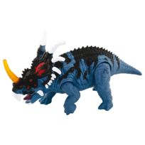 Chap Mei - Figurine Dino Valley sonore : Styracosaure bleu