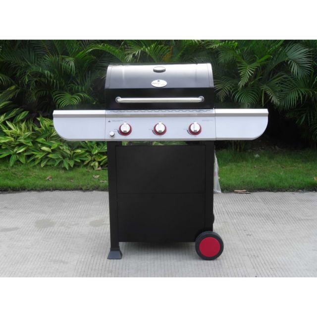 Barbecue Mode de vie ARIZONA 3 brûleurs pas cher Achat