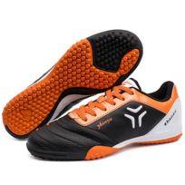 Wewoo - Chaussures de foot noir Pu Football Chaussures, Eu Taille: 33